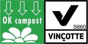Vincotte OK compost logo