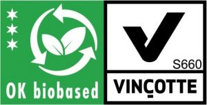 Vincotte OK biobased logo